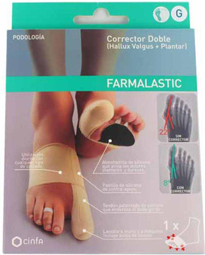Farmalastic Farmalastic Double bunion concealer + plantar (right)