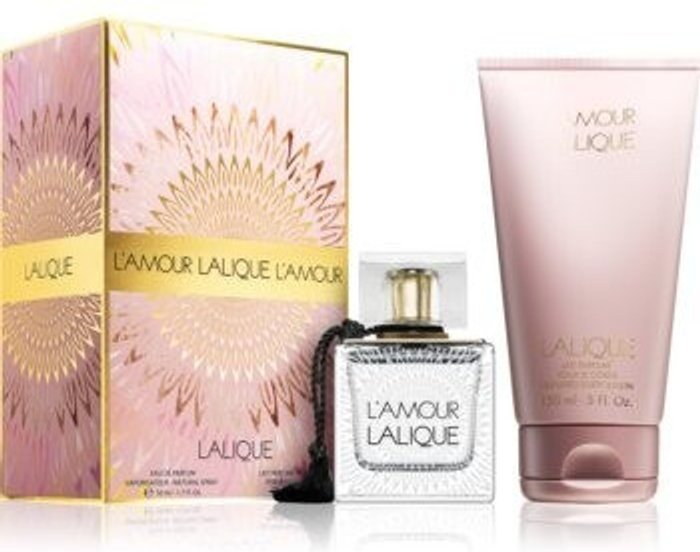 Lalique Lalique L´Amour Set (EdP 50ml + BL 150ml)