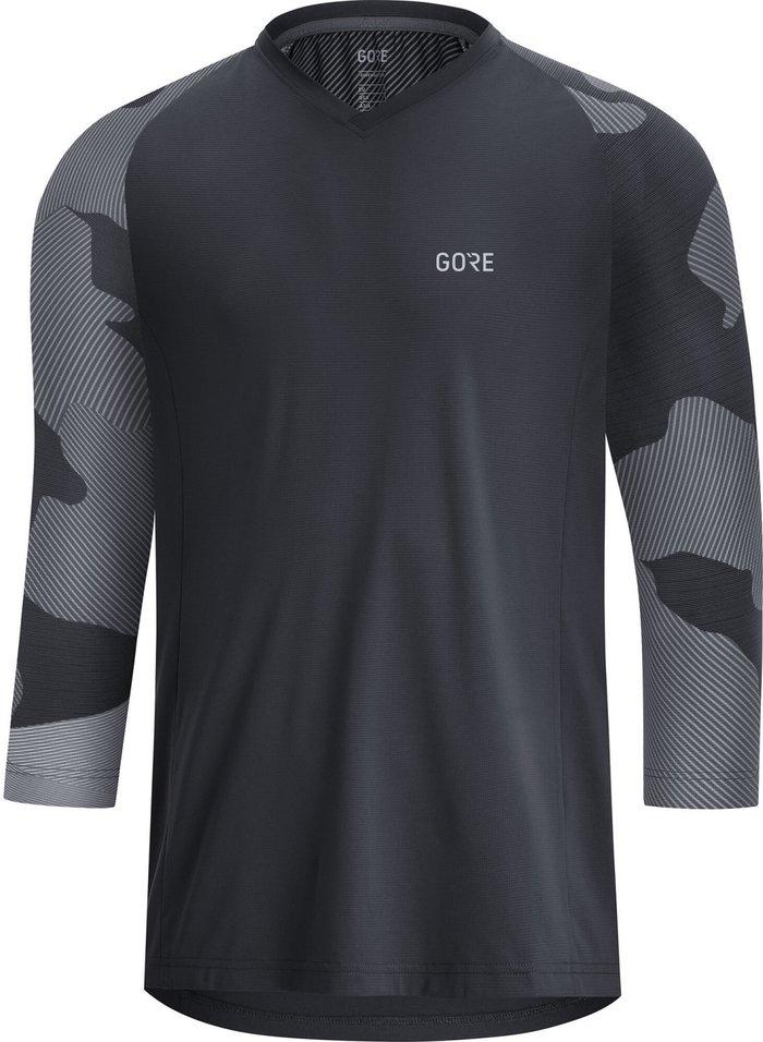 GORE Gore C5 Trail 3/4 Jersey Men black/dark graphite grey 2020