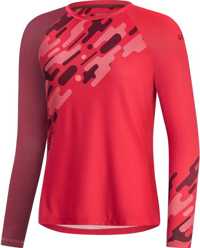 GORE Gore C5 Trail LS Jersey Women hibiscus pink/chestnut red 2020