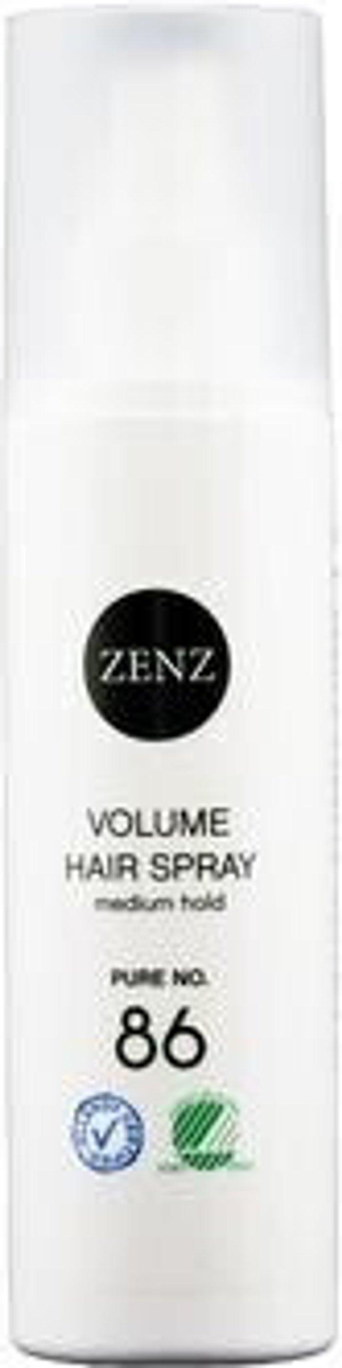 Zenz Organic Zenz Organic No. 86 Pure Volume Hair Spray Medium Hold (200 ml)