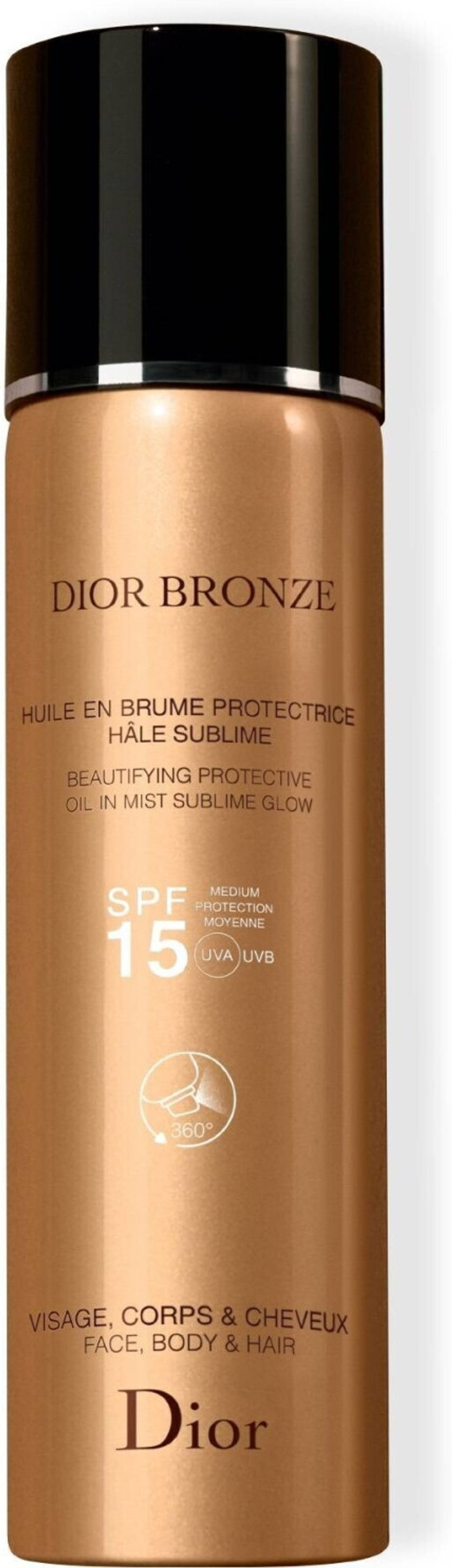 Dior Dior Beautifying Protective Oil in Mist Sublime Glow SPF15 (125ml)