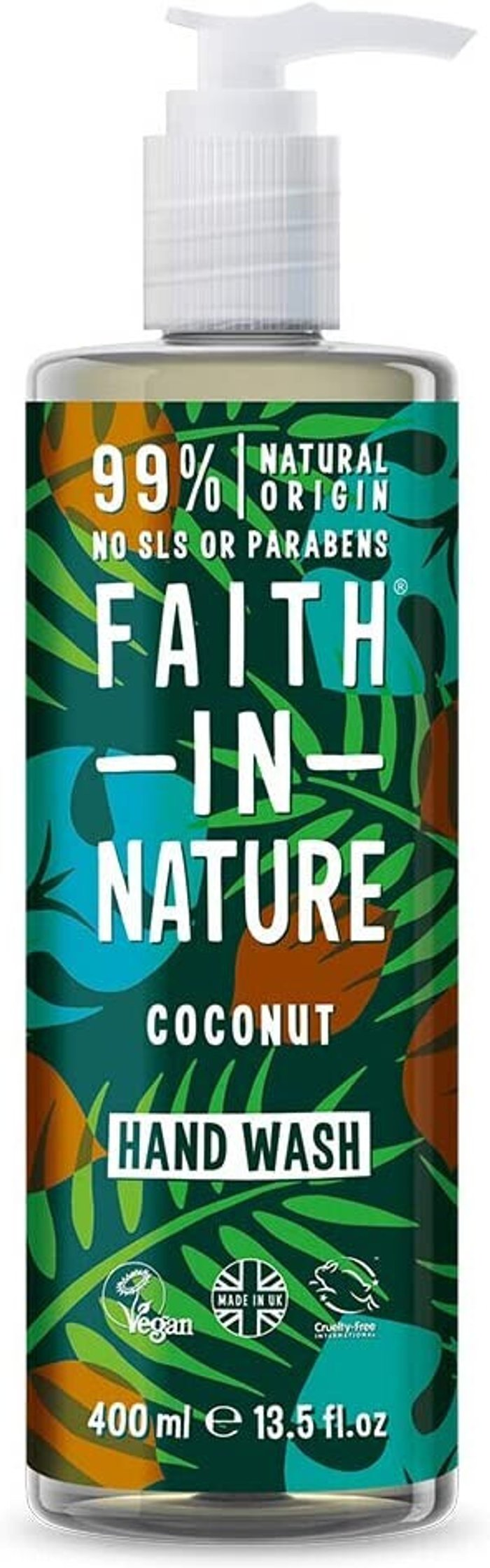 Faith in Nature Faith in Nature Coconut Hand Wash 400ml