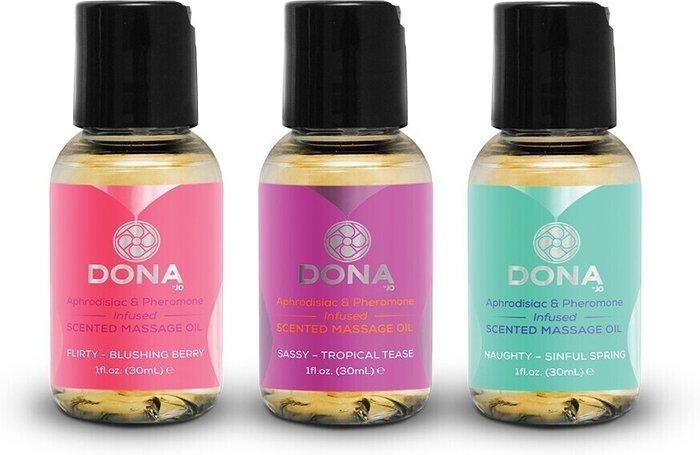 DONA by JO DONA by JO Let Me Touch You Massage Oil Set (3pcs)