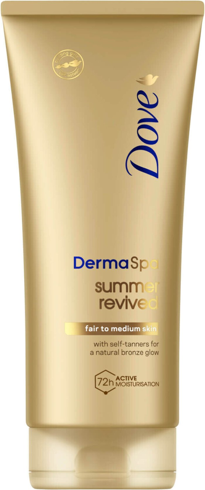 Dove Dove DermaSpa Summer Revived Self Tanning Body Lotion 200ml Fair to Medium