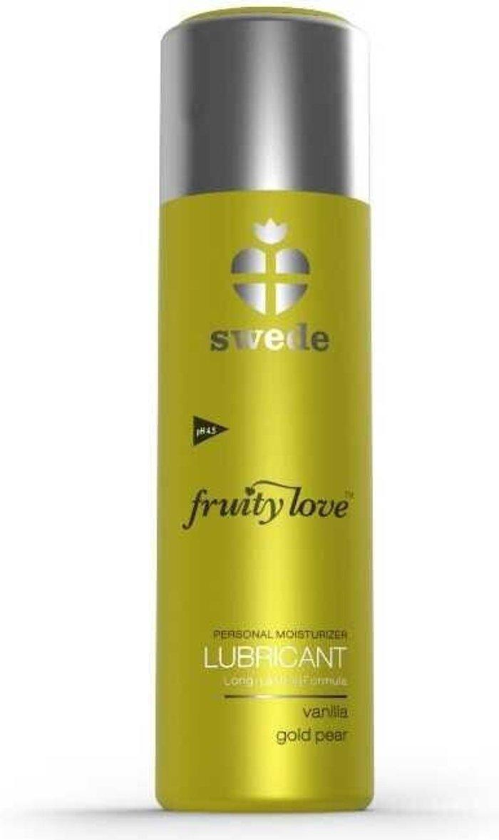 Swede Swede Fruity Love Lubricant Vanilla gold apple (100 ml)