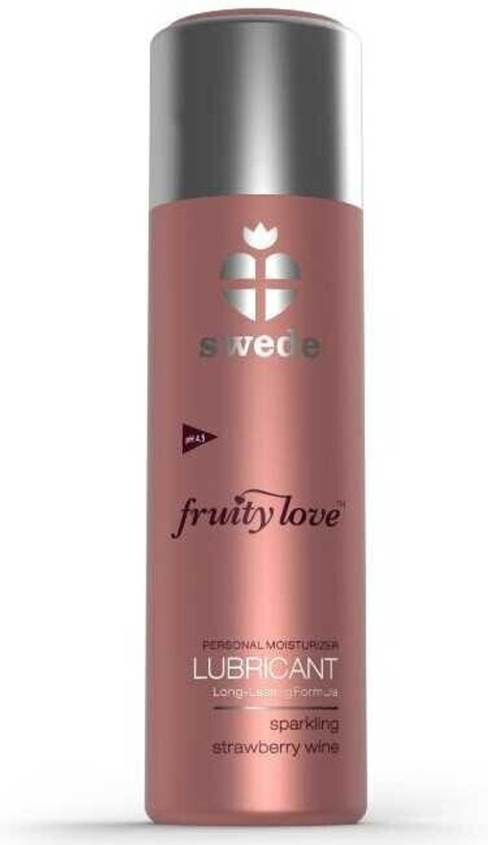 Swede Swede Fruity Love Lubricant Sparkling strawberry wine (50 ml)