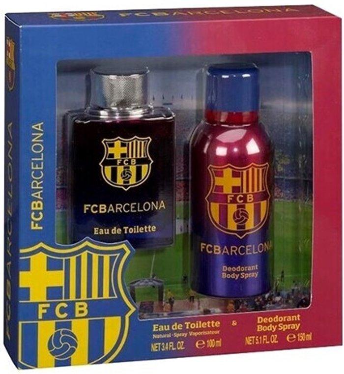 Sporting Brands Sporting Brands FC Barcelona Set (EdT 100 ml + Ds 150 ml)