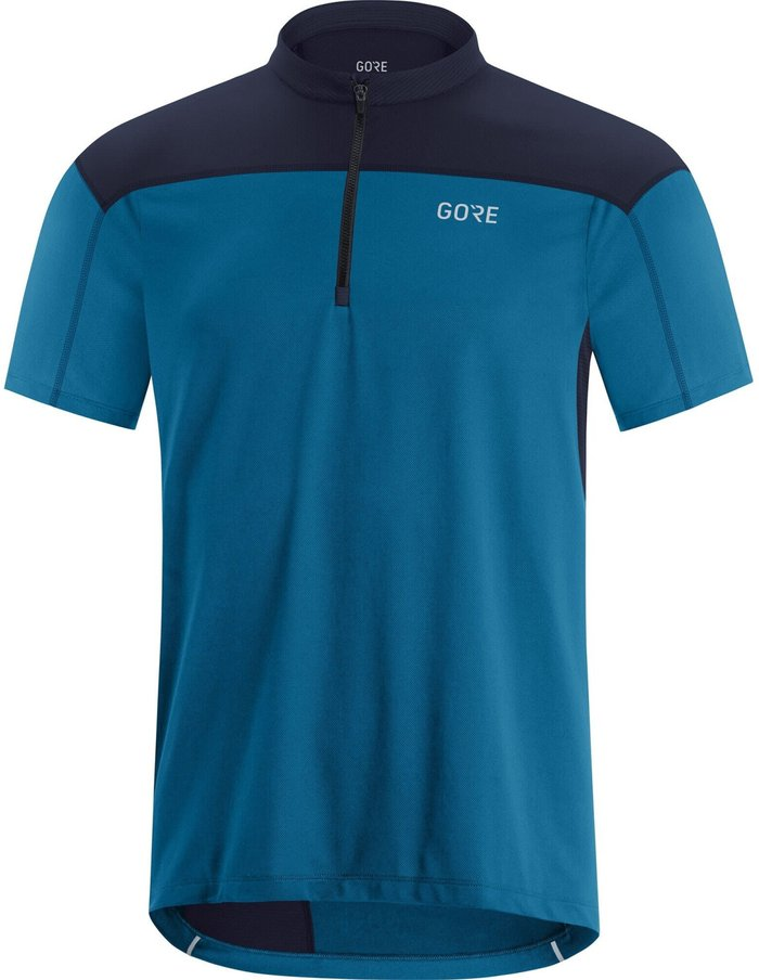 GORE Gore WEAR C3 Zip Shirt Men (2021) sphere blue/orbit blue