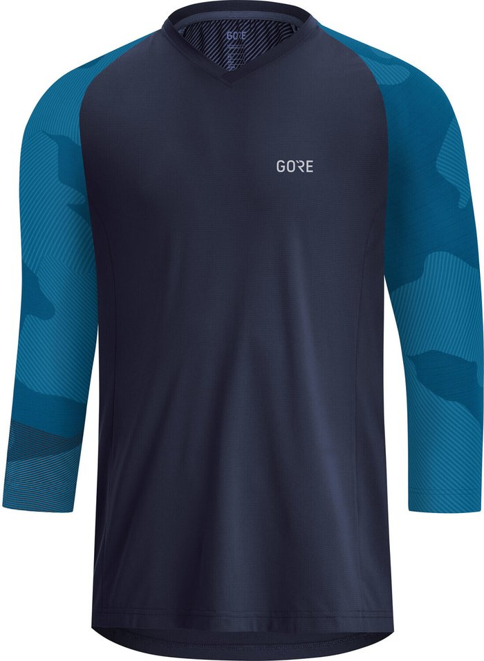 GORE Gore WEAR C5 Trail 3/4 Shirt Men (2021) orbit blue/sphere blue