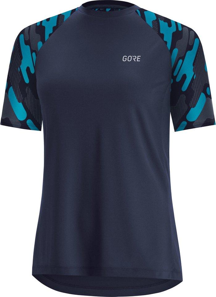 GORE Gore WEAR C5 Trail Kurzarm Shirt Women (2021) scuba blue/orbit blue