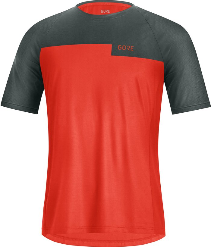GORE Gore WEAR Trail Shirt Men (2021) fireball/urban grey