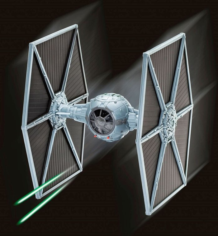 Revell Revell Gift Set - X-Wing Fighter and TIE Fighter Model (Scale 1:57)