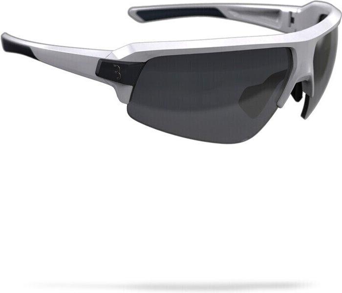 BBB BBB Impulse Sport Glasses Glossy White Smoke