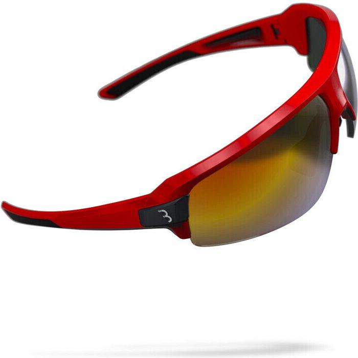 BBB BBB Impulse Sports Glasses Glossy Red Smoke
