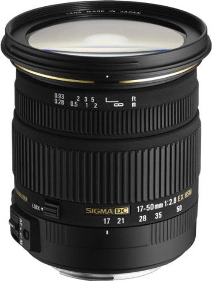 Sigma Sigma 17-50mm f2.8 EX DC OS HSM Pentax