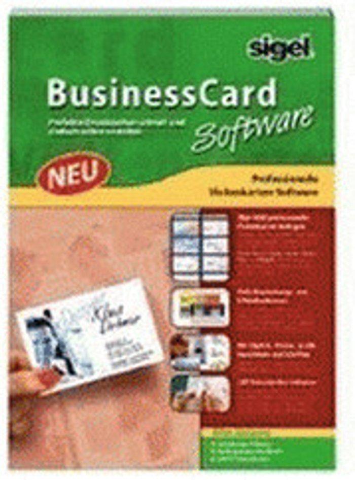 Sigel sigel BusinessCard Software (DE)