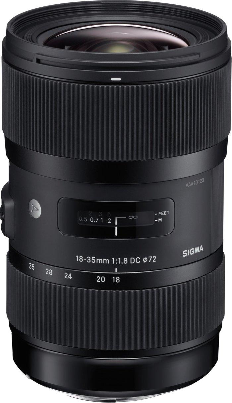 Sigma Sigma 18-35mm f/1.8 DC HSM Art Nikon