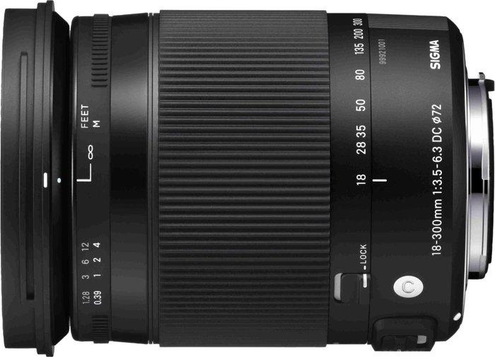 Sigma Sigma 18-300mm f/3.5-6.3 DC MACRO OS HSM Canon