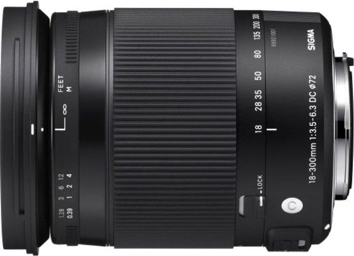 Sigma Sigma 18-300mm f/3.5-6.3 DC MACRO OS HSM Nikon