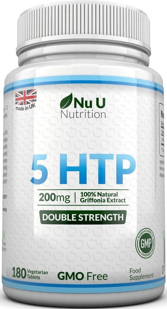 Nu U Nutrition Nu U Nutrition 5 HTP Griffona Extrakt 200mg (180 pcs.)