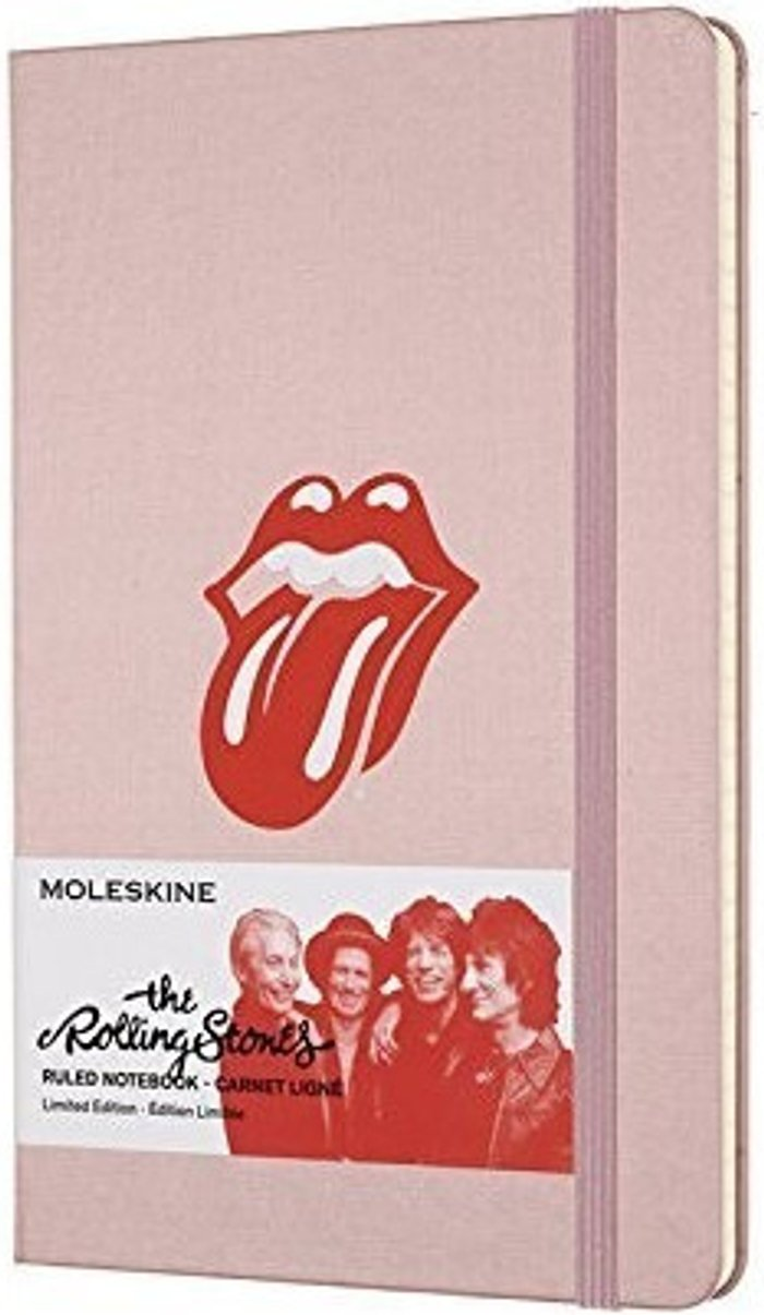 Moleskine Moleskine Rolling Stones Limited Edition Ruled Notebook