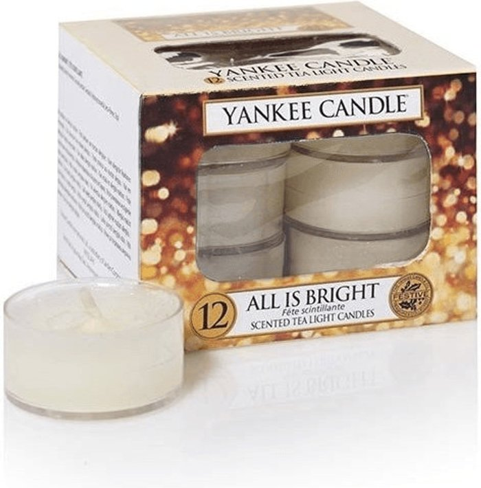 Yankee Candle Yankee Candle All is Bright  Scented Tea Light Candles