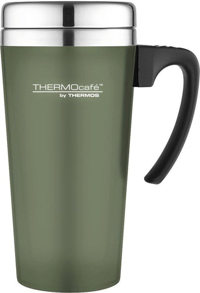 Thermos Thermos Thermocafe Translucent Travel Mug 420 ml Moss Green