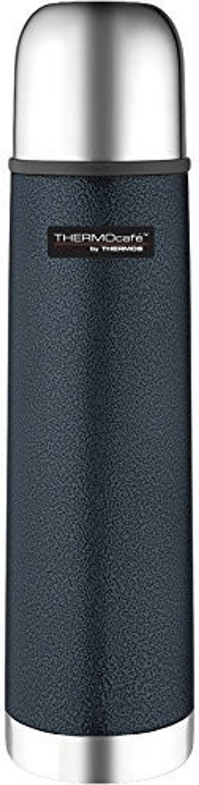 Thermos Thermos ThermoCafe stainless steel bottle Hammertoneblue 1,0 l