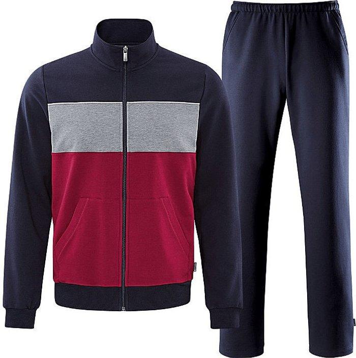 SCHNEIDER SPORTSWEAR Schneider Sportswear Blairm Tracksuit redwine/dark blue