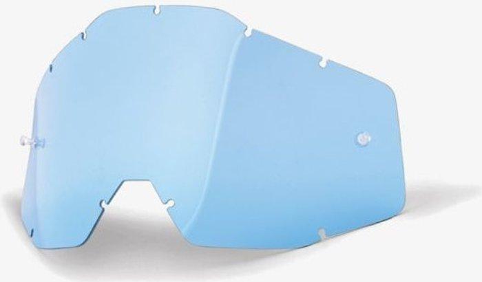 100% 100% RACECRAFT/ACCURI/STRATA Replacement Lens Blue