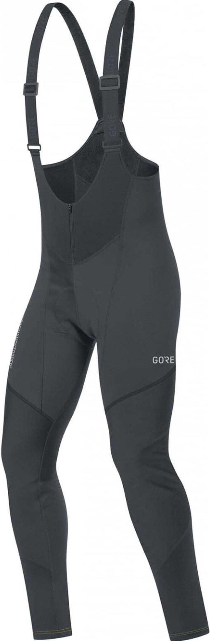 GORE Gore C3 Windstopper Thermo Bib Shorts Men black