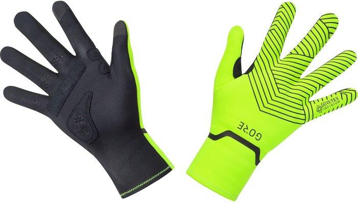 GORE Gore C3 GTX I Stretch Mid Gloves neon yellow/black