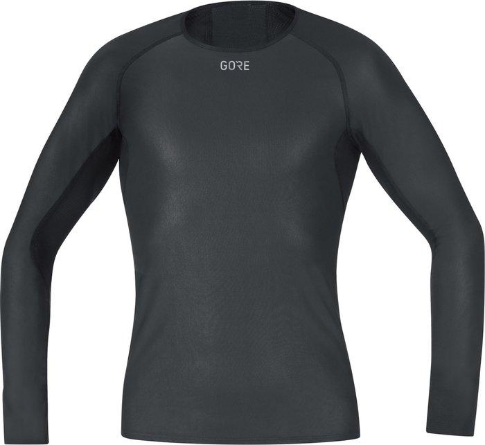 GORE Gore GWS BL Long Sleeve Shirt black