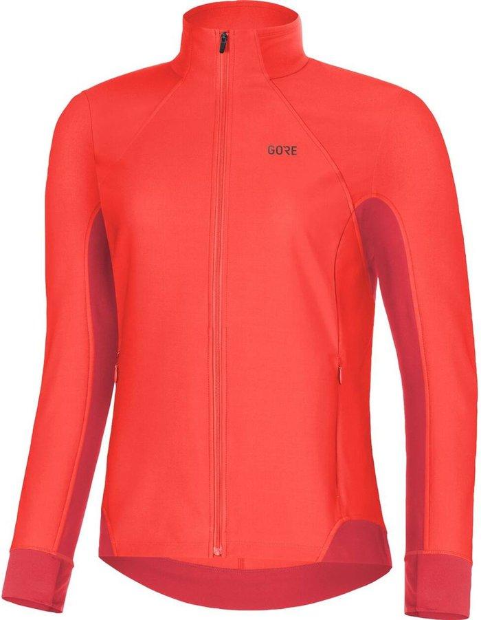 GORE Gore R3 Wmn Partial GWS Shirt lumi orange/hibiscus pink