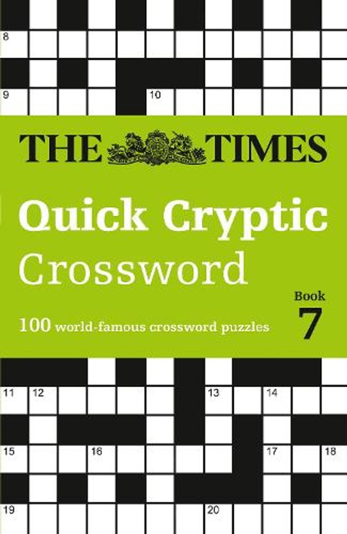 The Times Quick Cryptic Crossword Book 7