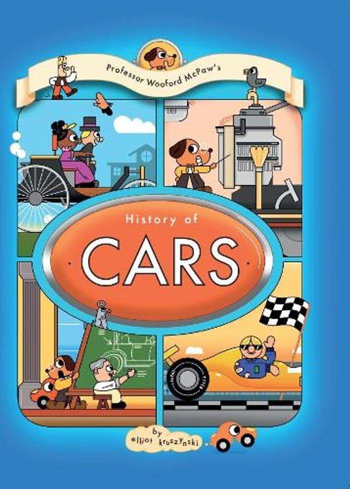 Professor Wooford McPaw's History of Cars