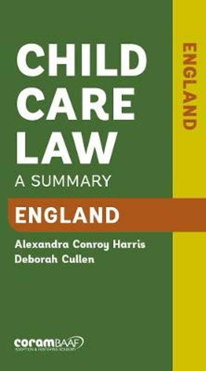 Child Care Law: England 7th Edition