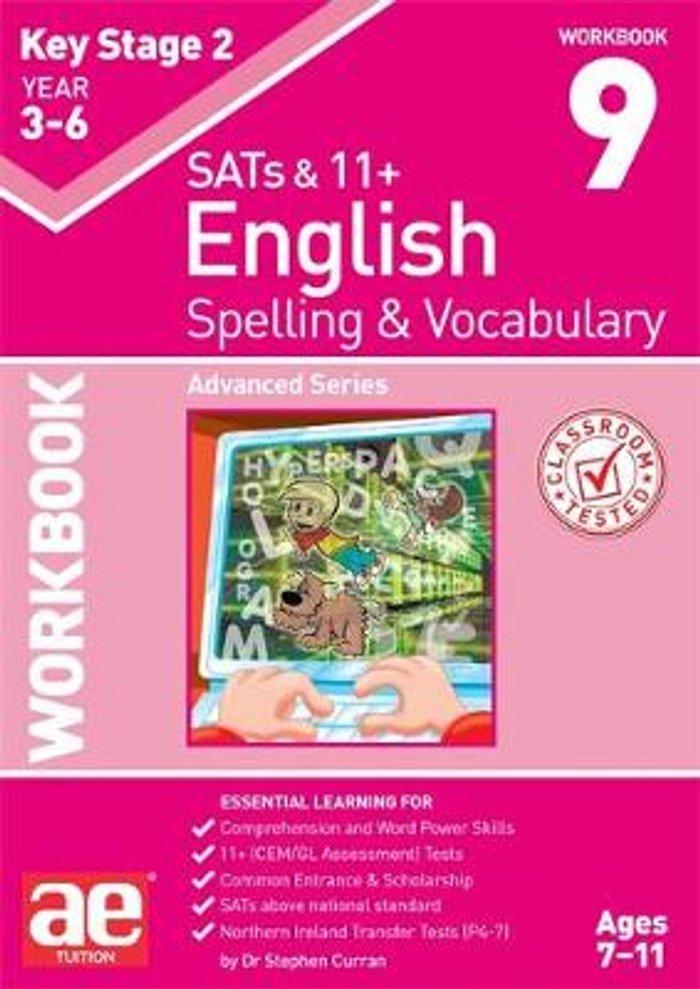 KS2 Spelling & Vocabulary Workbook 9