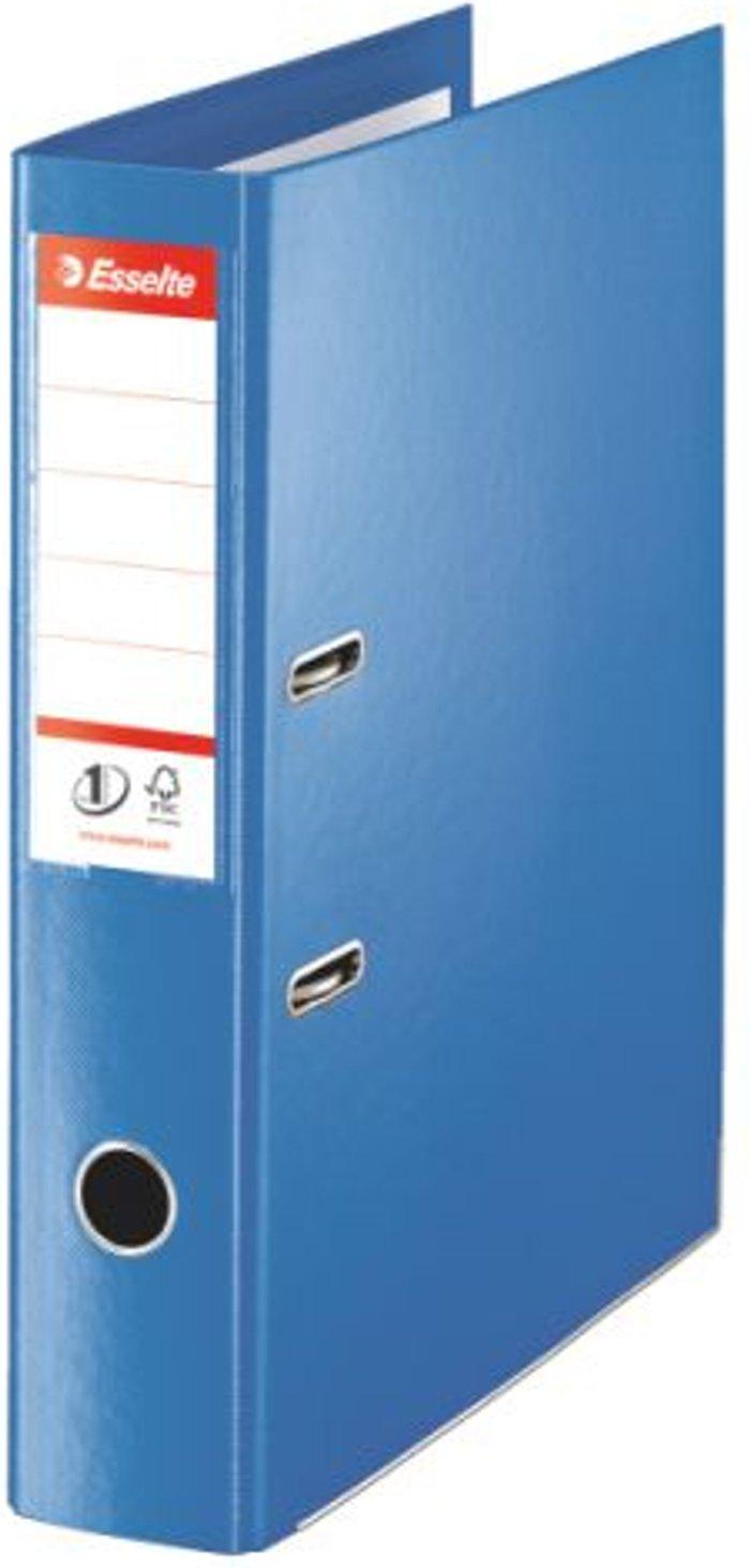 Esselte Esselte 75mm Lever Arch File Polypropylene Foolscap Blue (Pack of 10) 48085