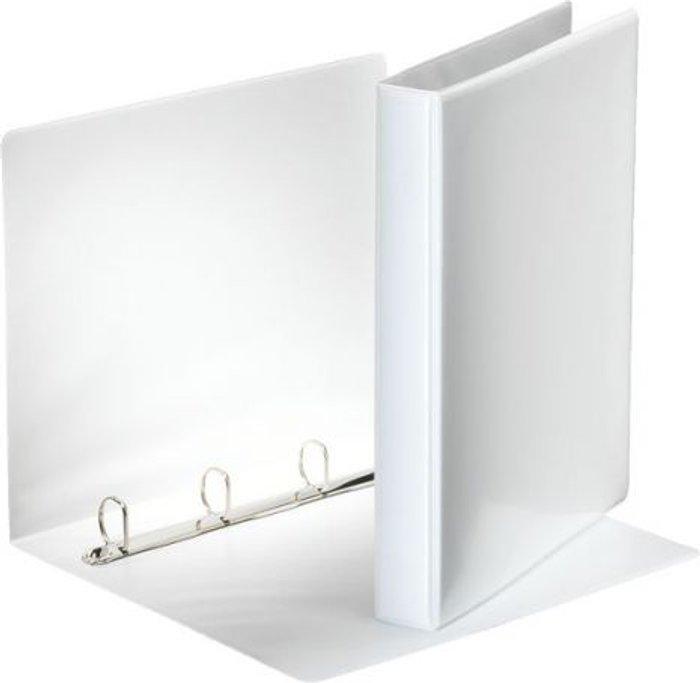 Esselte Esselte 25mm 4 D-Ring Presentation Binder A4 White 49702