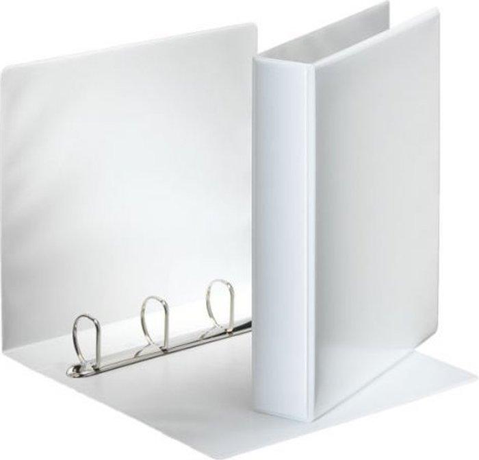 Esselte Esselte 40mm 4 D-Ring Presentation Binder A4 White 49704
