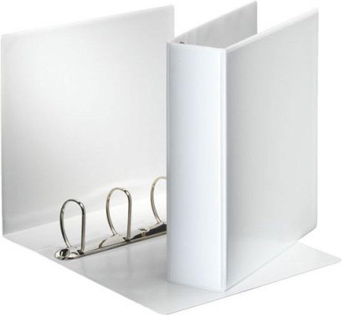 Esselte Esselte 60mm 4 D-Ring Presentation Binder A4 White 49706