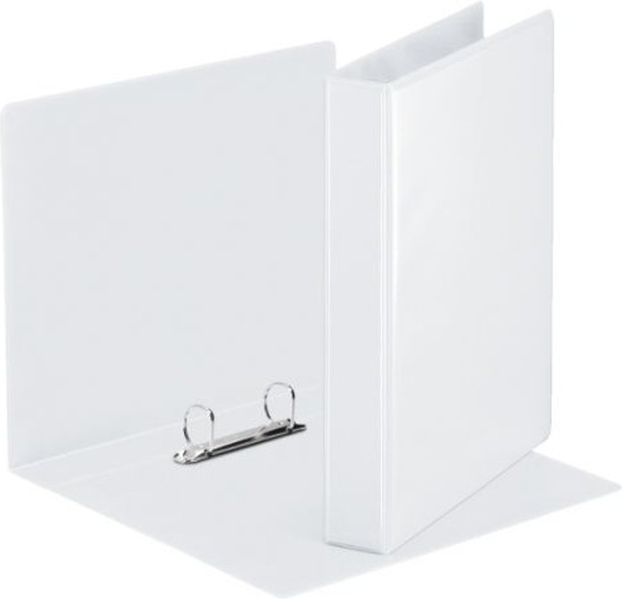 Esselte Esselte 25mm 2 D-Ring Presentation Binder A4 White (Pack of 10) 49737