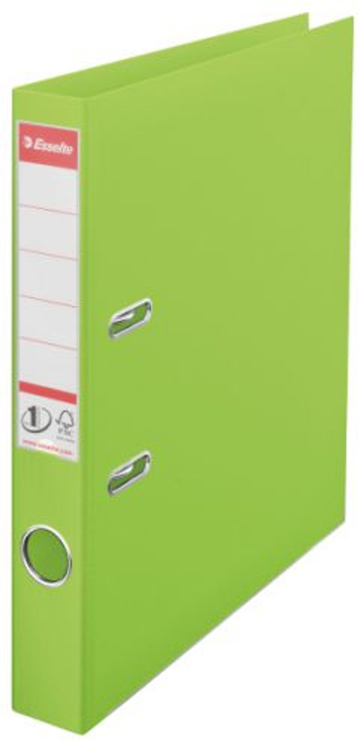 Esselte Esselte 50mm Lever Arch File Polypropylene A4 Green (Pack of 10) 48076