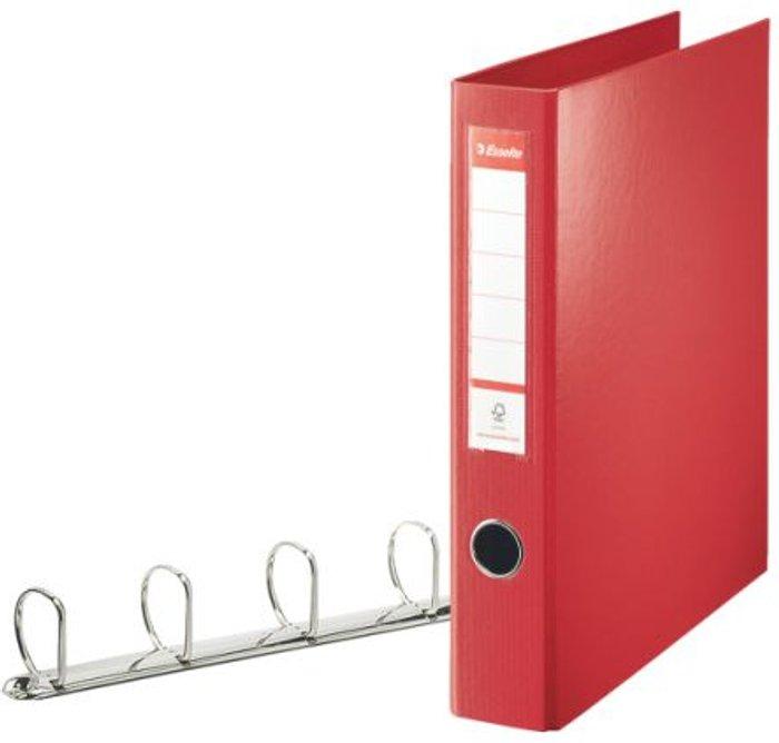 Esselte Esselte 4D-Ring A4 Binder 40mm Red 82403