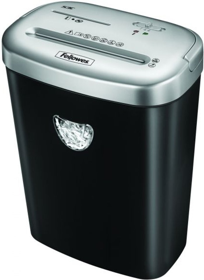 Fellowes Powershred® 53C Cross-Cut Shredder