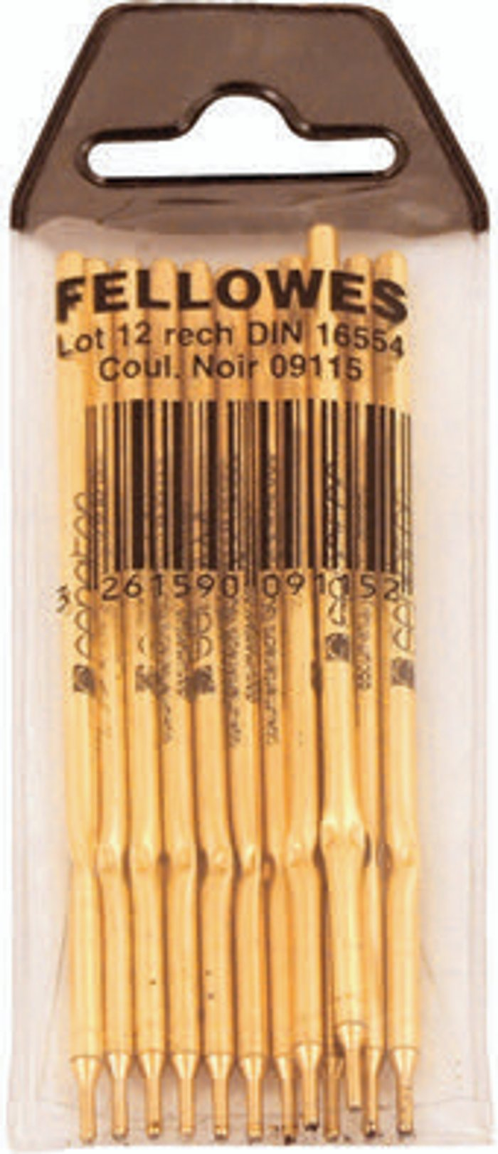 Fellowes Fellowes Ballpoint Desk Pen and Chain Refill (Pack of 12) 0911501