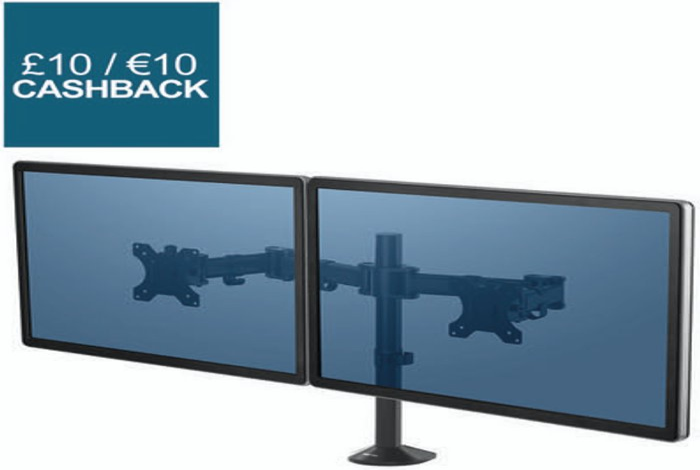 Fellowes Fellowes Reflex Dual Monitor Arm 8502601