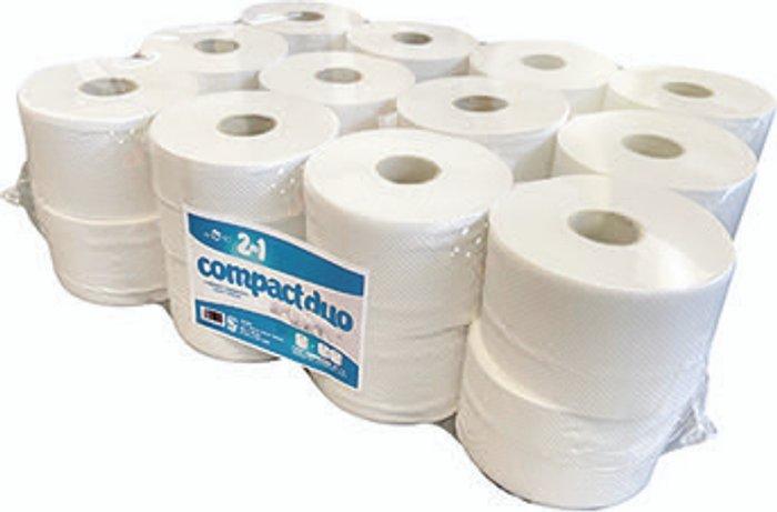 ESP 2-Ply Micro Jumbo Toilet Roll 80m (Pack of 24) JWH201